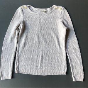 Loft Cream Colored Sweater